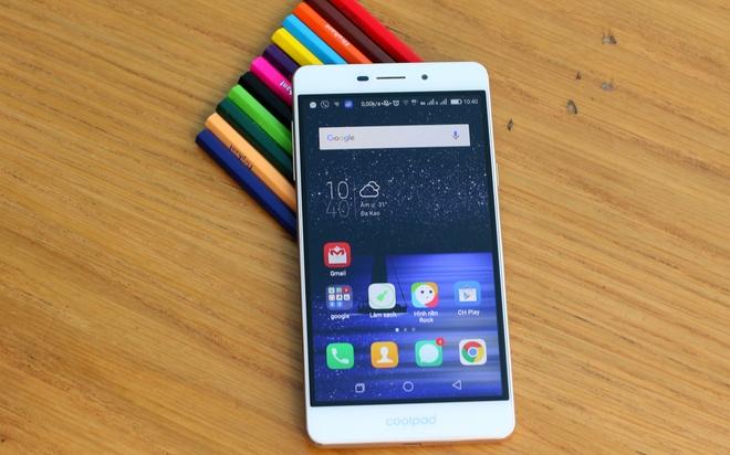 Smartphone Coolpad Sky 3: Camera toi uu cho live stream hinh anh 1