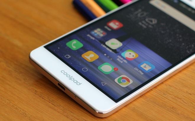 Smartphone Coolpad Sky 3: Camera toi uu cho live stream hinh anh