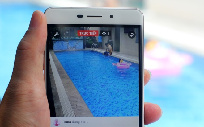 Smartphone Coolpad Sky 3: Camera toi uu cho live stream hinh anh 5