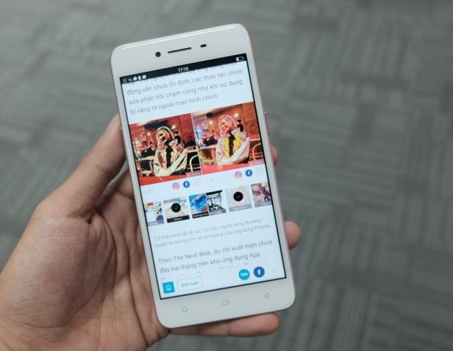 Oppo A37 - smartphone tam trung thiet ke cao cap, selfie dep hinh anh 4