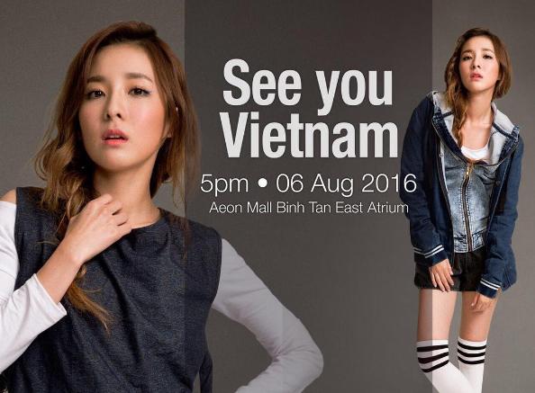 Fan hao huc cho don Sandara Park - 2NE1 den Viet Nam hinh anh