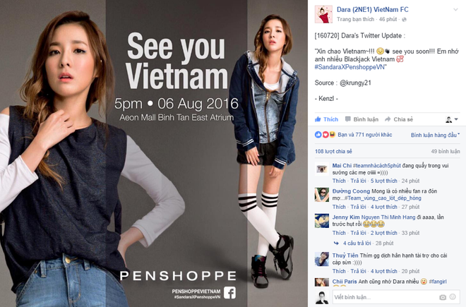 Fan hao huc cho don Sandara Park - 2NE1 den Viet Nam hinh anh 3