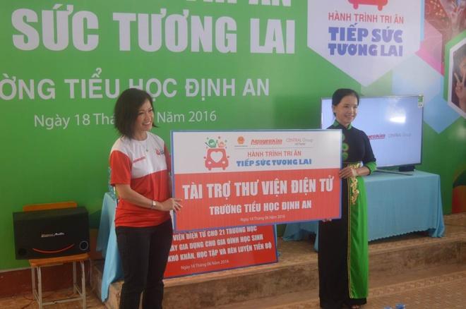 'Hanh trinh tri an - Tiep suc tuong lai' cua Nguyen Kim hinh anh 1