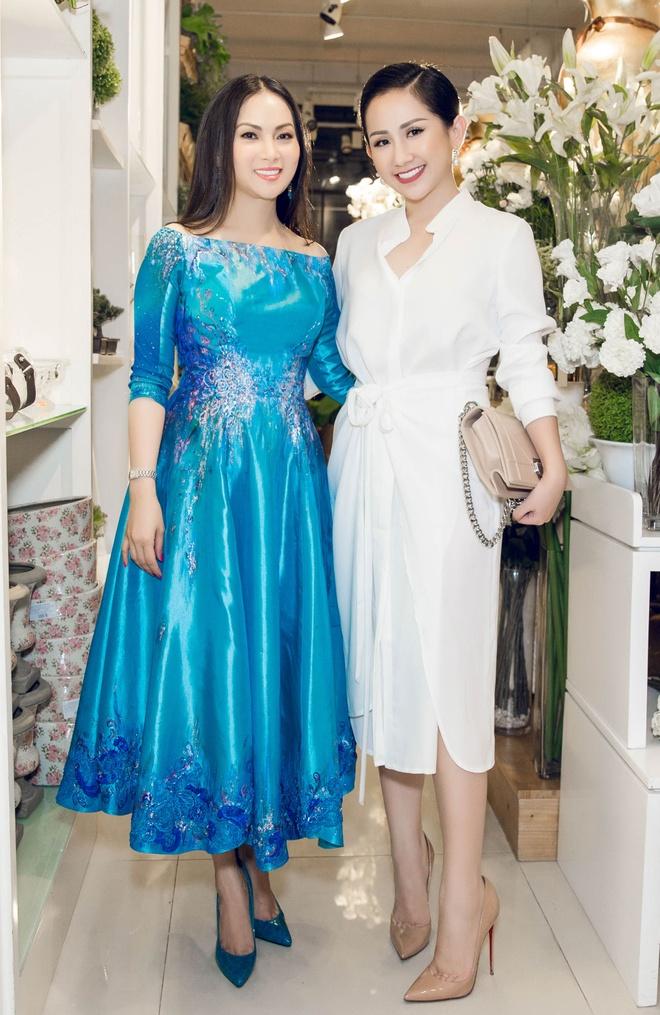 Fashionista Tram Nguyen hoi ngo nu ty phu Ha Phuong hinh anh 1