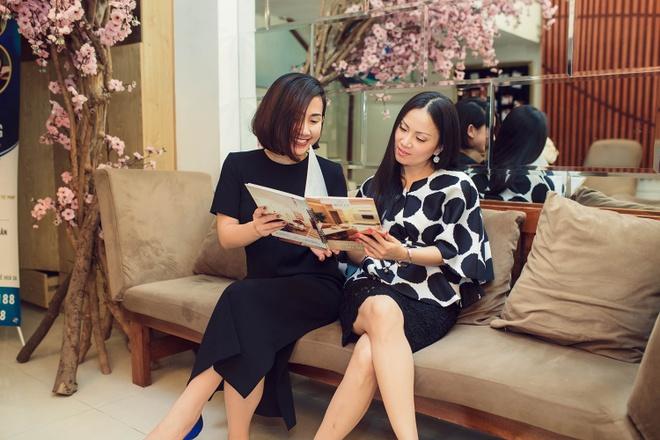 Fashionista Tram Nguyen hoi ngo nu ty phu Ha Phuong hinh anh 7
