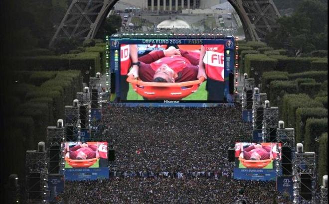 Nhung khoanh khac an tuong cua Euro 2016 hinh anh 2
