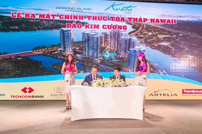 Toa thap Hawaii - dao Kim Cuong chinh thuc ra mat tai TP HCM hinh anh 3