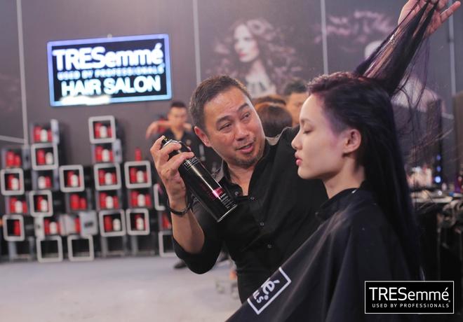 5 buoc cho mai toc dep nhu thi sinh Vietnam's Next Top Model hinh anh 5