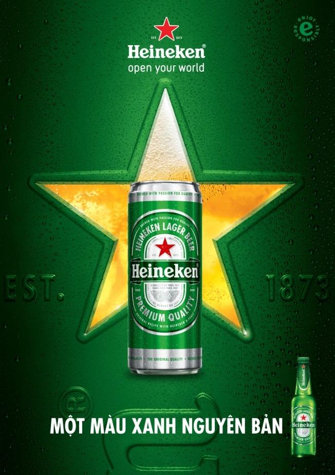 Hua Vi Van thich thu voi dien mao lon cao moi cua Heineken hinh anh 2