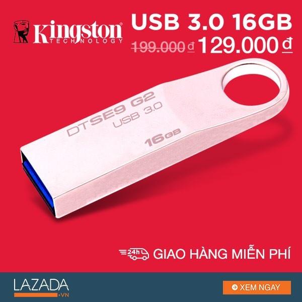 3 uu diem cua USB 3.0 Kingston DataTraveller SE9 G2 hinh anh 3
