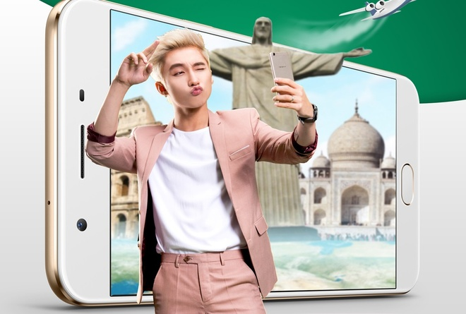 Gioi tre hao hung den FPT Shop mua tra gop OPPO F1s hinh anh