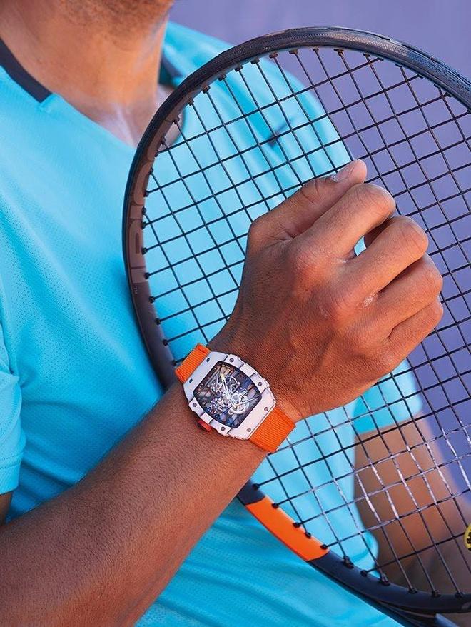 Dong ho RM 27-02 nang 21 gram mang ten Nadal gia 18 ty dong hinh anh 5