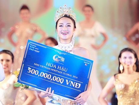 Hoa hau Ban sac Viet toan cau 2016 khep lai thanh cong hinh anh