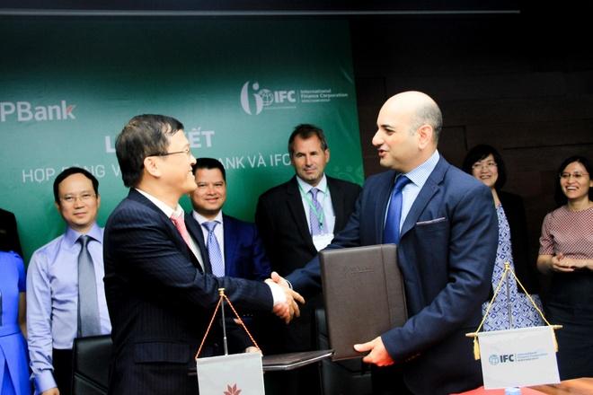 To chuc tai chinh quoc te IFC cho VPBank vay 125 trieu USD hinh anh 1