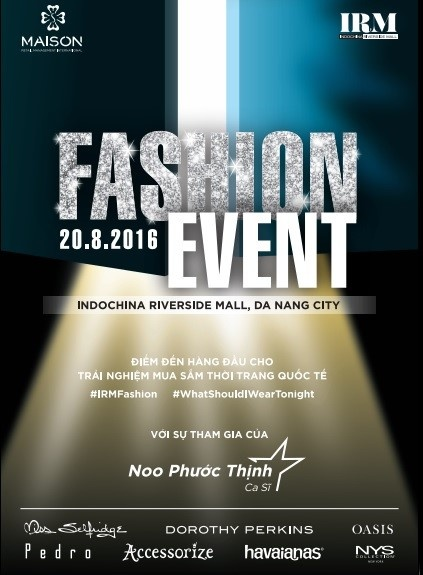 Noo Phuoc Thinh tai ngo fan Da Nang tai da hoi Fashion Event hinh anh 1