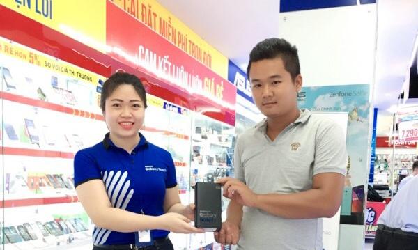 Tang qua kem uu dai khi mua Galaxy Note 7 tai MediaMart hinh anh 1