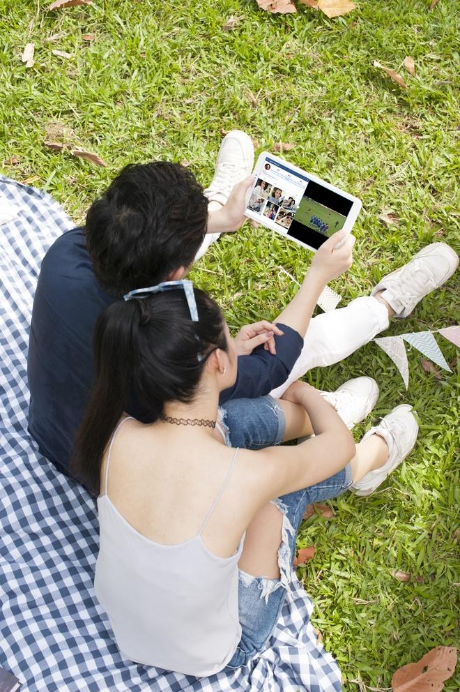 Ba tinh nang cua Galaxy Tab A6 duoc nguoi dung tre ua chuong hinh anh 1