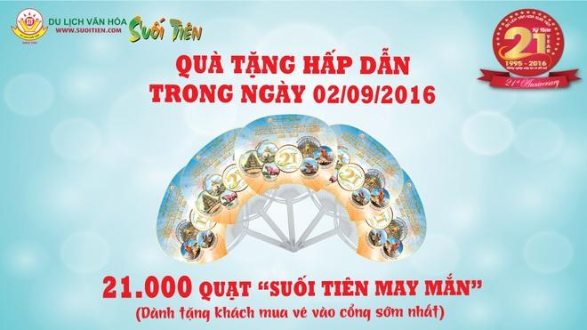 Uu dai lon tai Suoi Tien dip Quoc khanh 2/9 hinh anh 1