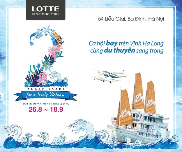 Khuyen mai mung sinh nhat 2 tuoi Lotte Department Store hinh anh 1