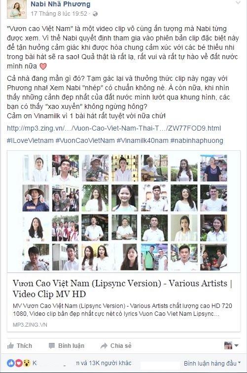 Nhung con so an tuong cua MV 'Vuon cao Viet Nam' hinh anh 2