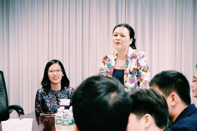 Hoc sinh Vinschool tham Phai doan Ngoai giao Viet Nam tai UN hinh anh 4