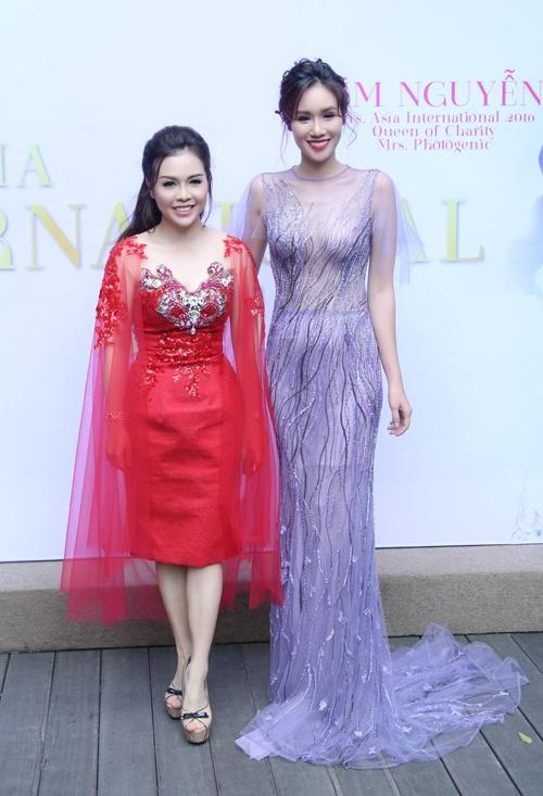 Xuan Lan,  Kim Nguyen,  Hoa hau Quy ba chau A 2016 anh 4