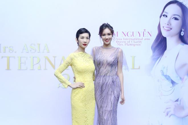 Xuan Lan,  Kim Nguyen,  Hoa hau Quy ba chau A 2016 anh 1