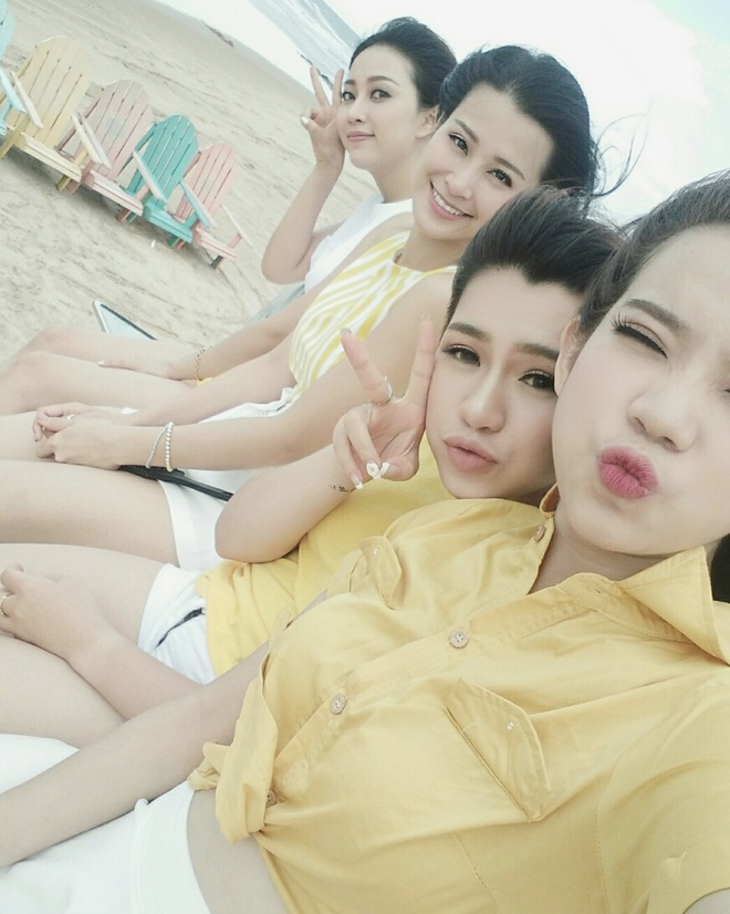 hau truong MV cua Dong Nhi va nhom Hello Yellow anh 3