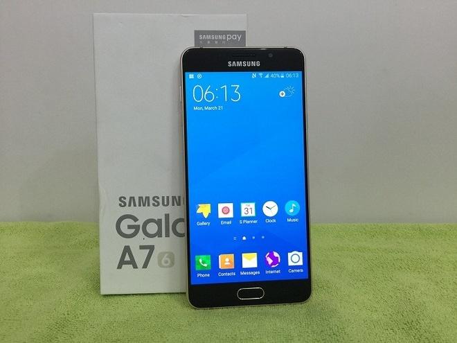 Samsung Galaxy A7 2016 xach tay ve VN gia 5,7 trieu dong hinh anh 2