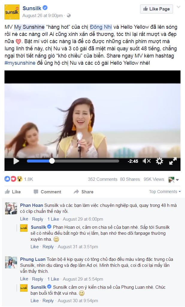 MV moi cua Dong Nhi dat gan 4 trieu luot xem anh 2