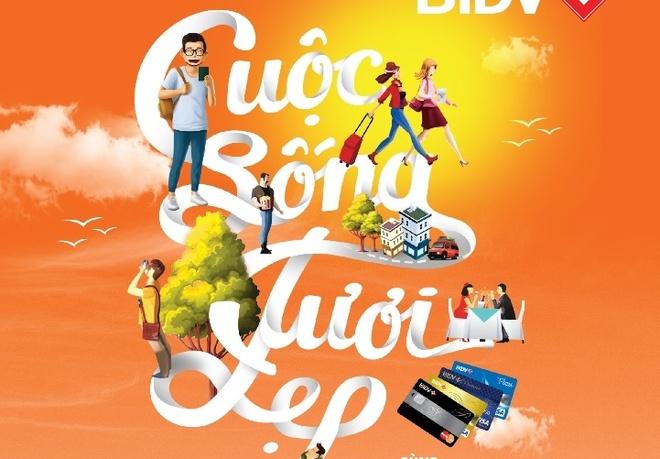 The BIDV giup khach hang tan huong cuoc song hinh anh