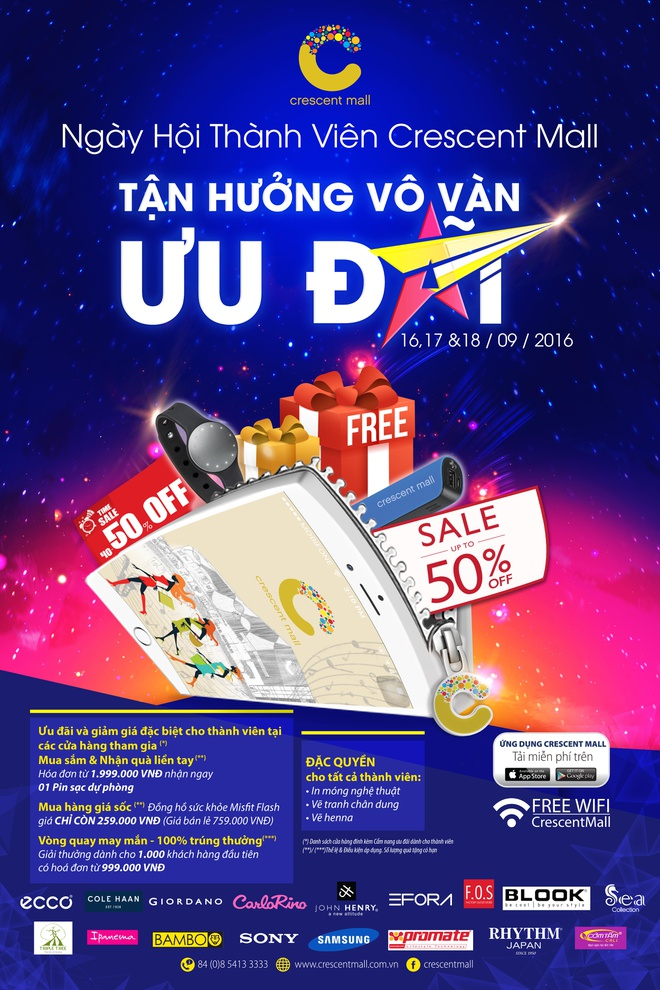 Crescent Mall,  the thanh vien dien tu anh 2