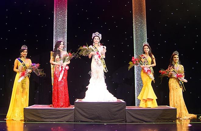 Nhan sac cua dai dien Viet Nam tham du Mrs World 2016 hinh anh 2
