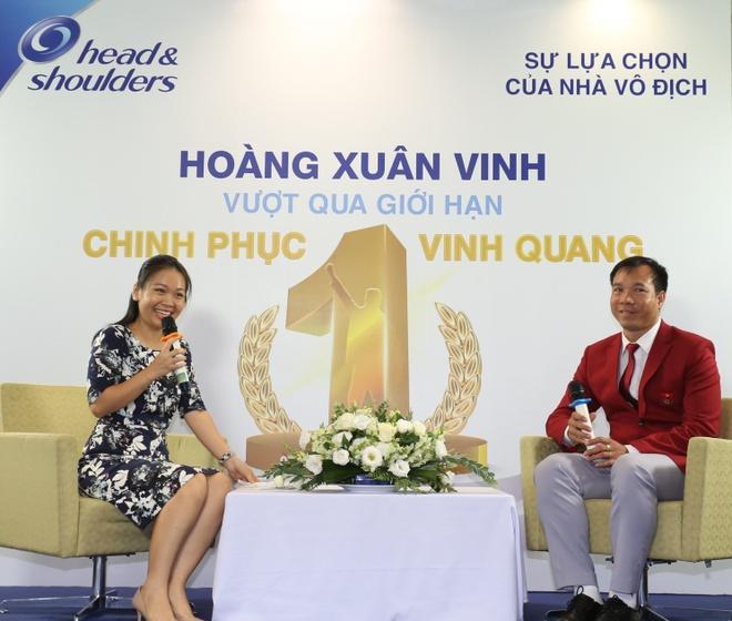 Hoang Xuan Vinh: Se tiep tuc chinh phuc vinh quang hinh anh 1