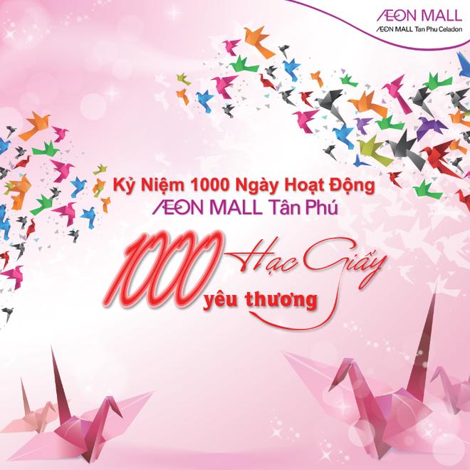 AEON Mall Tan Phu Celadon ky niem 1.000 ngay hoat dong hinh anh 1