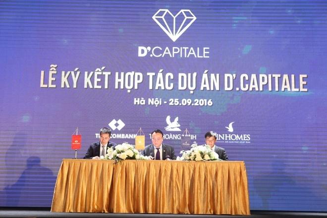 Tan Hoang Minh, Vingroup, Techcombank ra mat du an BDS moi hinh anh 3