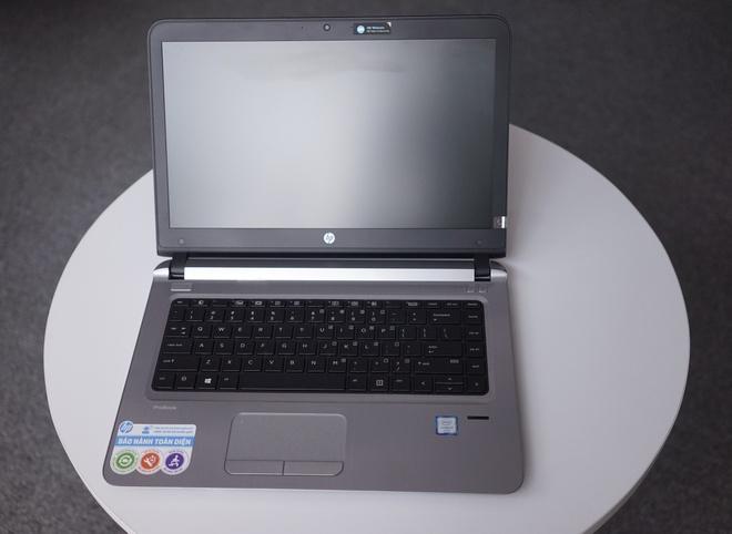 HP ProBook 440 G3 2016: Thiet ke dep, ban phim chong nuoc hinh anh