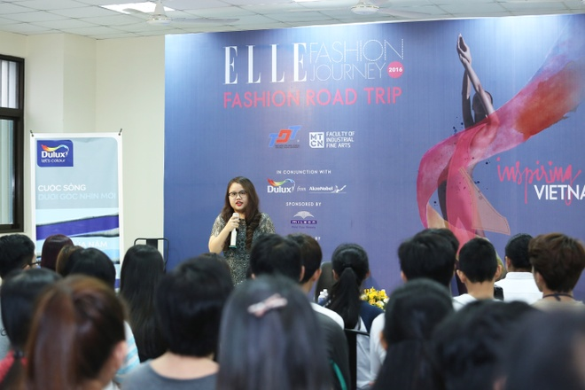 ELLE Fashion Journey - noi nhung dam me nghe thuat toa sang hinh anh 3