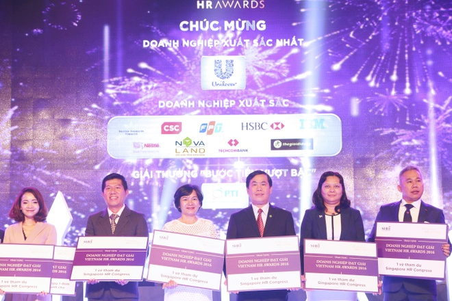 Novaland dat giai tai 3 hang muc cua Vietnam HR Awards 2016 hinh anh 1