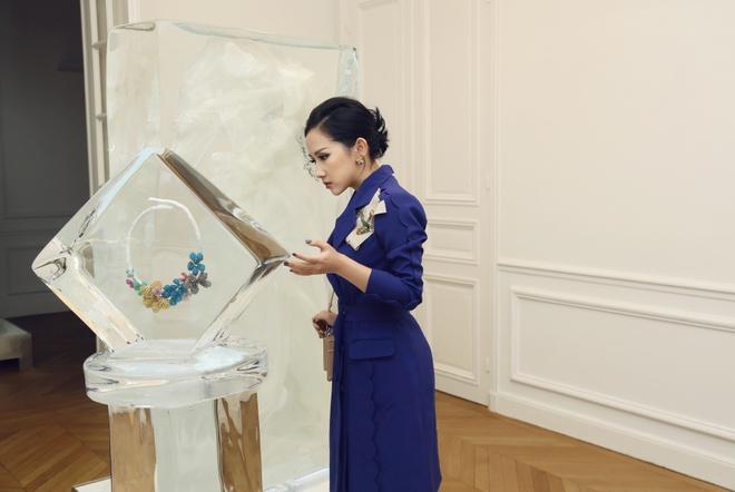Tram Nguyen hoi ngo hai chan dai Viet o Paris Fashion Week hinh anh 9