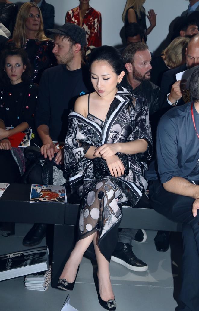 Tram Nguyen hoi ngo hai chan dai Viet o Paris Fashion Week hinh anh 11