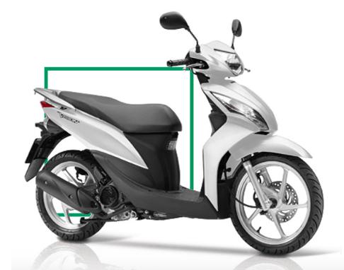 Mua OPPO trung xe may Honda Vision tu Hoang Ha Mobile hinh anh