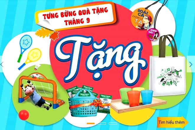 Vinamilk ra mat website TMDT Giac mo sua Viet hinh anh