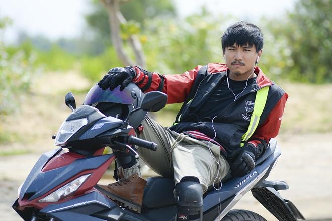 Lich trinh phuot cuc Dong bang xe may cua chang tho xam 8X hinh anh 1