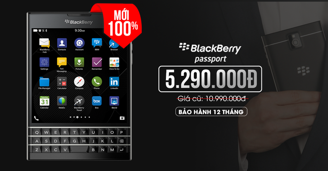 iPhone 4S 8 GB, BlackBerry Passport gia re hut khach hinh anh 5