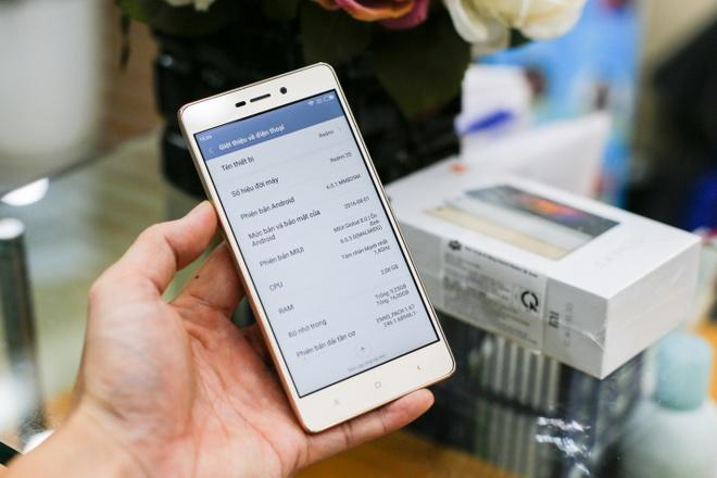 4 uu diem cua smartphone gia re Xiaomi Redmi 3s hinh anh 2