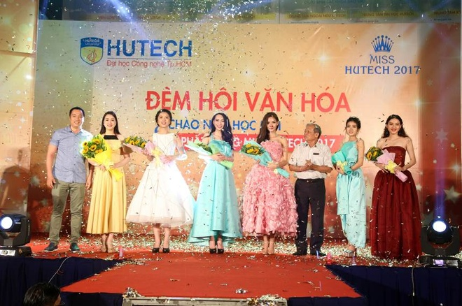 'Dem hoi chao nam hoc moi va Phat dong Miss HUTECH' soi dong hinh anh 5