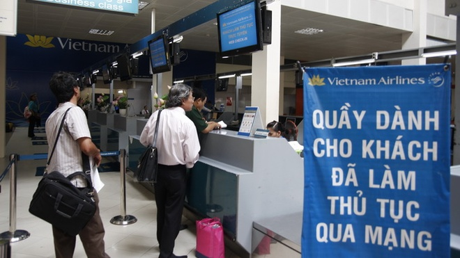 Vietnam Airlines mo check-in truc tuyen tai san bay Nhat hinh anh 1