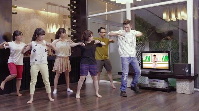 Jun cung top 3 'Than tuong Richoco' tung MV phien ban moi hinh anh 1