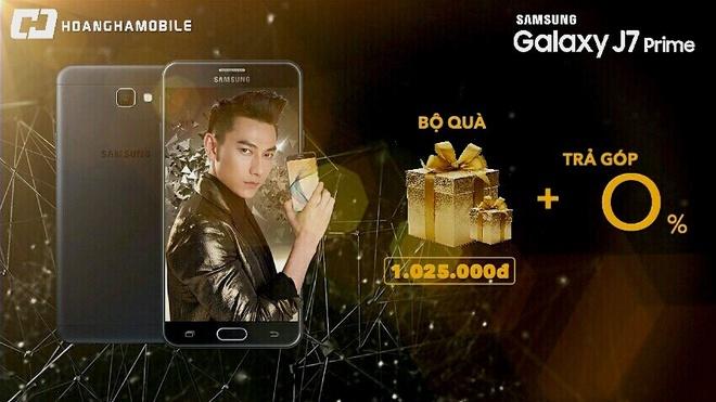 Mua Galaxy J7 Prime, nhan qua 1 trieu dong o Hoang Ha Mobile hinh anh 1
